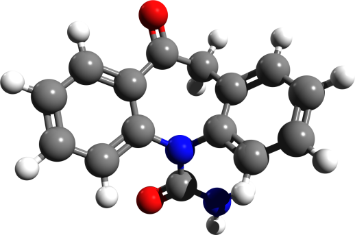 Orcarbazepine_3d_structure